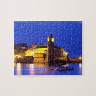 The church Eglise Notre Dame des Anges, our lady Jigsaw Puzzle