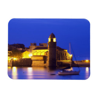 The church Eglise Notre Dame des Anges, our lady Rectangular Photo Magnet