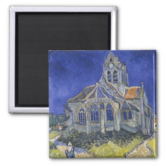 The Church in Auvers by Vincent van Gogh Fridge Magnet