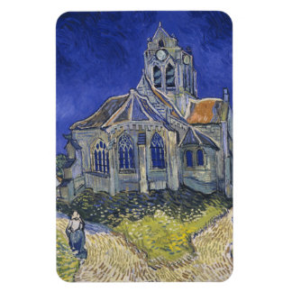 The Church in Auvers by Vincent van Gogh Magnet