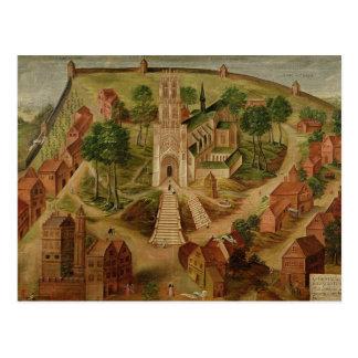 The Church of Saint-Gery Postcard