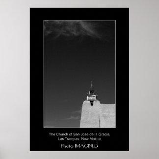 THE CHURCH OF SAN JOSE DE LA GRACIA, LAS TRAMPAS POSTER