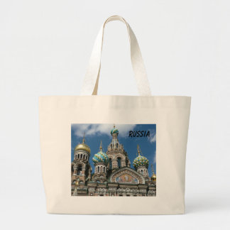 The Church of the spilled blood tote bag