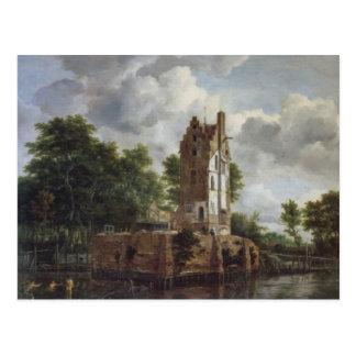 The Church Tower Postcard
