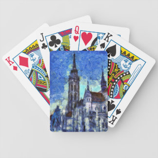 The Church Vincent Van Gogh Bicycle Playing Cards