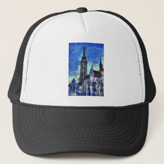 The Church Vincent Van Gogh Trucker Hat