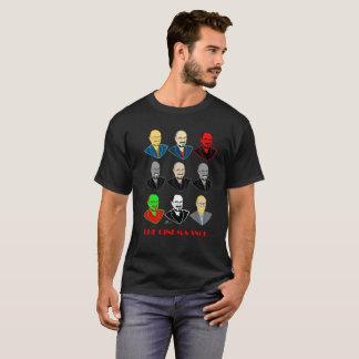 The Cinema Snob Faces - Men's Black T-Shirt