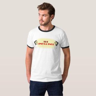 The Cinema Snob Logo - Men's Ringer T-Shirt