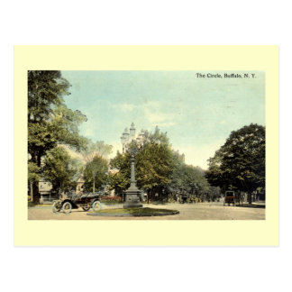 The Circle, Buffalo NY 1913 Vintage Postcard