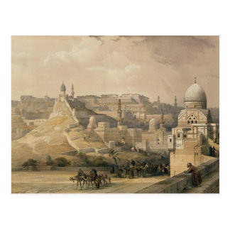 """The Citadel of Cairo, from """"Egypt and Nubia"""" Postcard"""