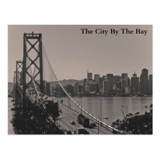 The City By The Bay Postcard