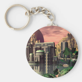 The city keychain