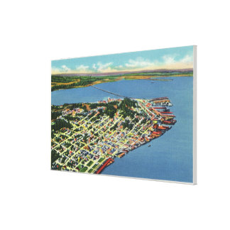 The City Looking Towards Young's Bay Canvas Print