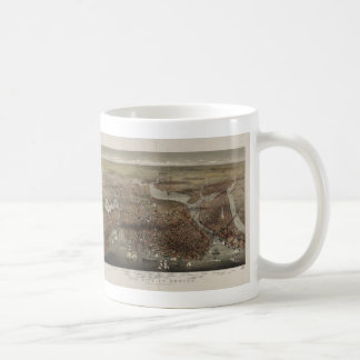 The City of Boston by Parsons & Atwater 1873 Coffee Mugs