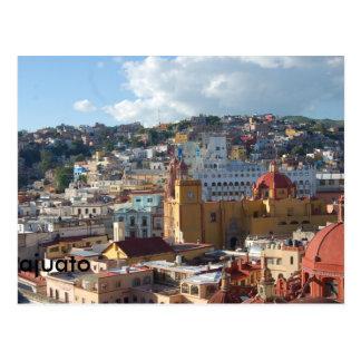 The city of Guanajuato Postcard