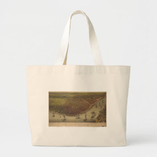 The City of New Orleans Louisiana from 1885 Tote Bag