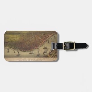 The City of New Orleans Louisiana from 1885 Luggage Tag