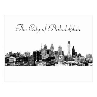 The City of Philadelphia Postcard