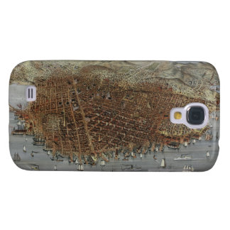 The City of San Francisco California from 1878 Samsung Galaxy S4 Cover