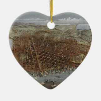 The City of San Francisco California from 1878 Ornament