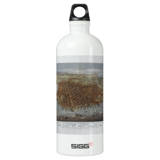 The City of San Francisco California from 1878 SIGG Traveler 1.0L Water Bottle