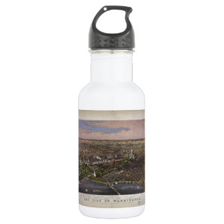The City of Washington D.C. from 1880 532 Ml Water Bottle