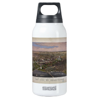 The City of Washington D.C. from 1880 Insulated Water Bottle