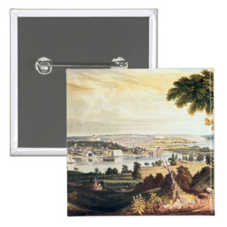 The City of Washington from beyond the Navy 15 Cm Square Badge