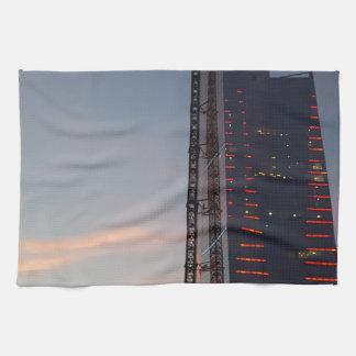the city tea towel