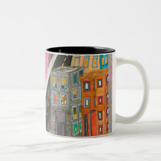 The City Two-Tone Coffee Mug