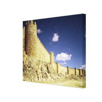 The city walls gallery wrap canvas