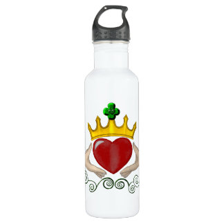 The Claddagh (Full Colour) 710 Ml Water Bottle