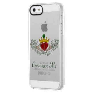 The Claddagh (Full Colour) Clear iPhone SE/5/5s Case