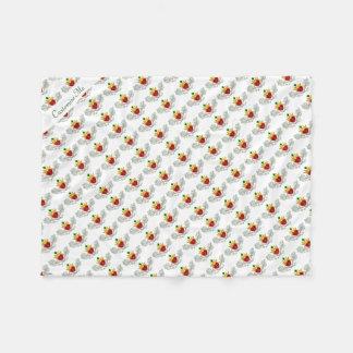 The Claddagh (Full Colour) Fleece Blanket