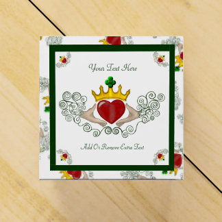 The Claddagh (Full Colour) Party Favour Box