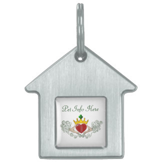 The Claddagh (Full Colour) Pet Tag