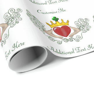 The Claddagh (Full Colour) Wrapping Paper