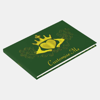 The Claddagh (Gold) Guest Book