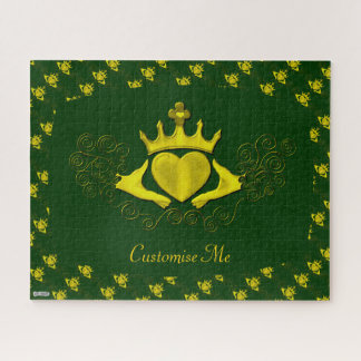The Claddagh (Gold) Jigsaw Puzzle