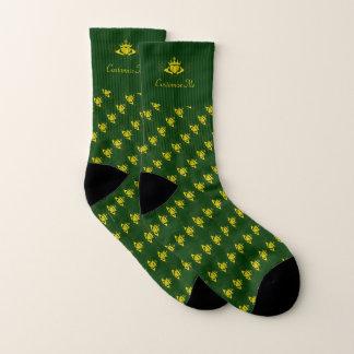 The Claddagh (Gold) Socks