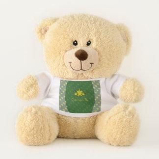 The Claddagh (Gold) Teddy Bear