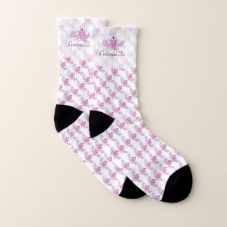 The Claddagh (Pink) Socks