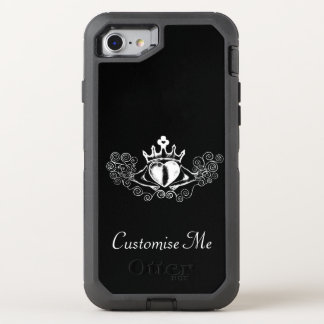 The Claddagh (White) OtterBox Defender iPhone 7 Case