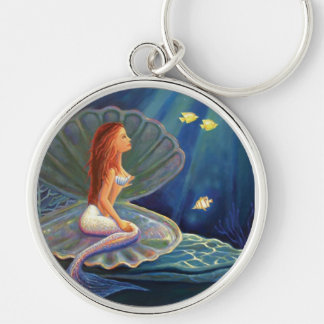 The Clamshell Mermaid - Key Chain