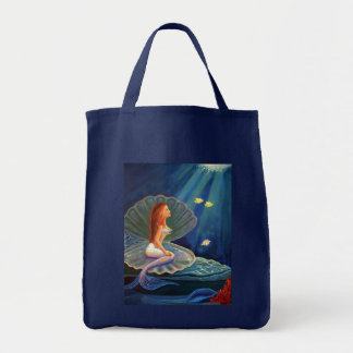 The Clamshell Mermaid - Tote Bag