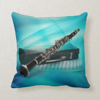 The Clarinet Blues Pillow