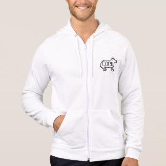 the classic corgi zip-up hoodie