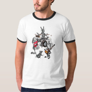the classic mad tea party ringer T-Shirt