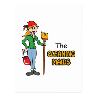 The Cleaning Maids Postcard