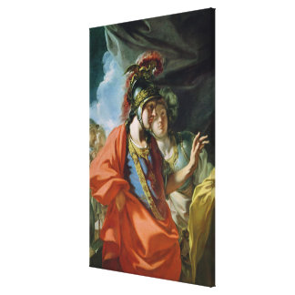 The Clemency of Alexander the Great Canvas Print